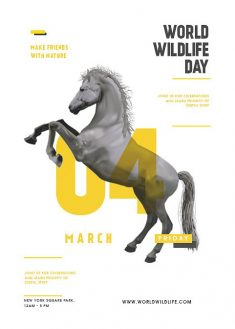 World Wildlife Day – Poster Design