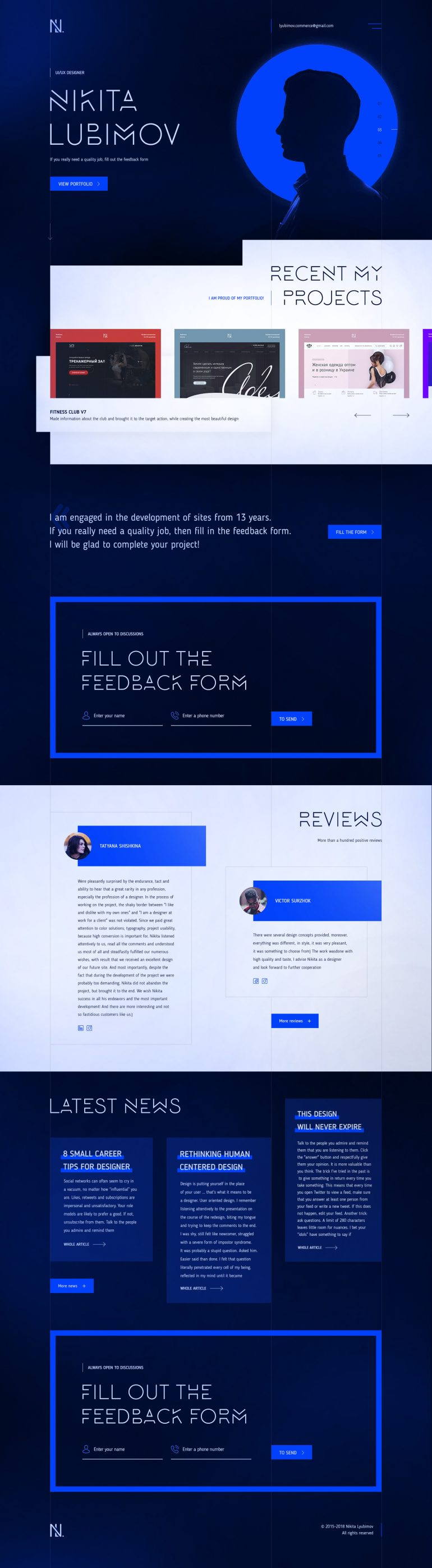 PSD TEMPLATE / LANDING PAGE
