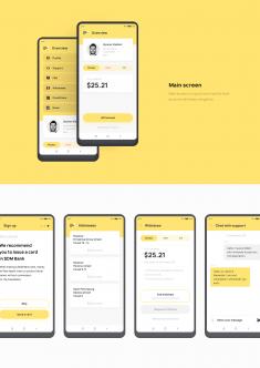 Taxi app UX/UI