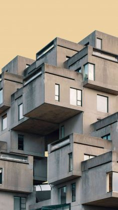 Concrete House iPhone Wallpaper