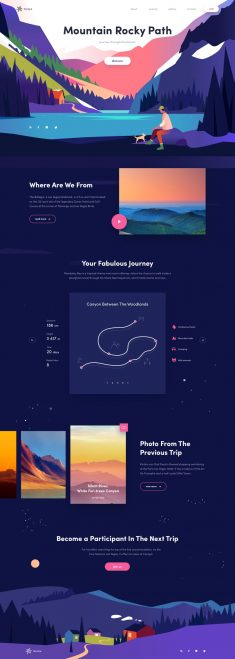 Mountain Rocky – Daily Design Inspiration No 05