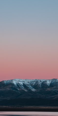 Sunset Minimal Mountains