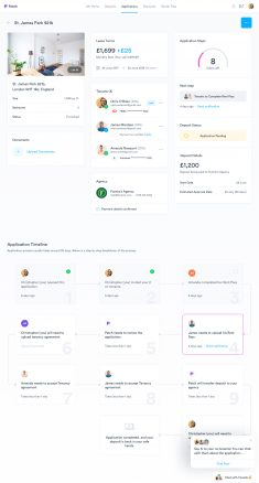 Patch – Dashboard – Deposit Application by Filip Justić