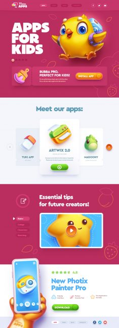 Apps for kids! by Mike | Creative Mints