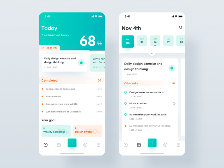 Task management by Fiasco