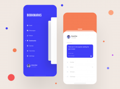 App Navigation | Daily UI by hellobaha 🦄