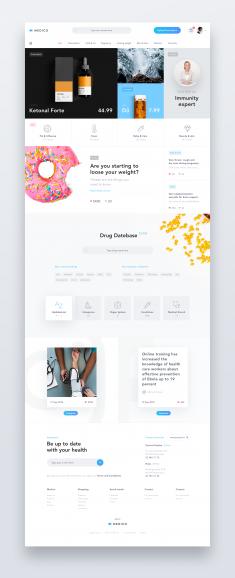 Medico – Online Drug Store by Michał Czekaj