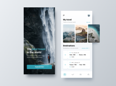 Travel World App by Angel Villanueva