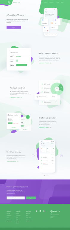 Finance Application Website by Anggit Yuniar Pradito