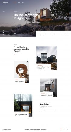 Architecture Firm – Minimal Concept