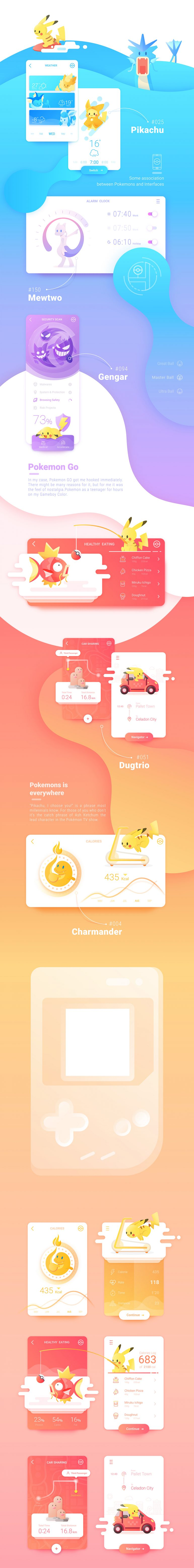 Animated scroll of Pokemon by Daz_Qu