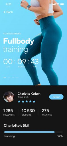 Wellness app by Choice Studio