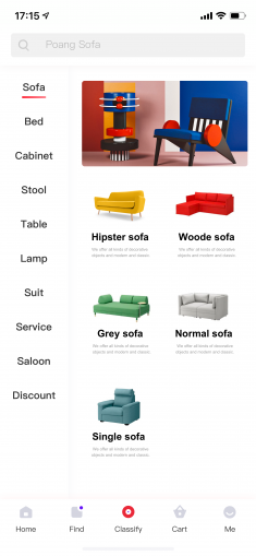 Future Furniture App-01 by Senyie