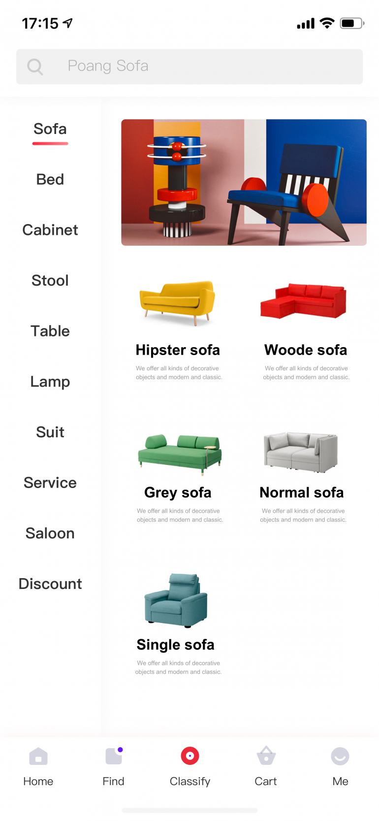Future Furniture App-01 by Senyie