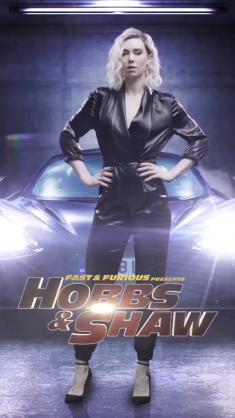 Hobbs and Shaw Movie Poster