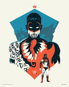 Finn Balor WWE Official Gallery 1988 by Jurassickevin