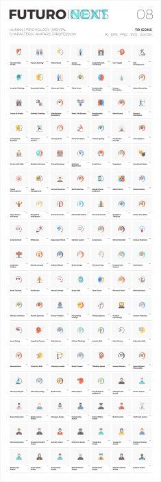 Futuro Next Icons / Human Pack