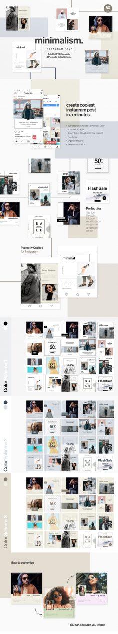 Minimalism – Instagram Pack
