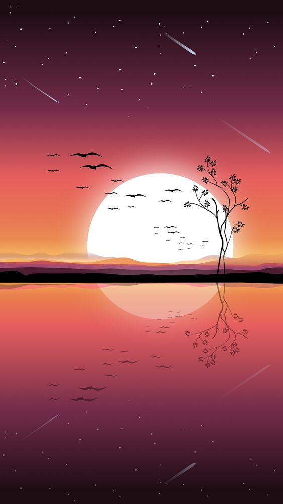 Reflection – iPhone Digital art