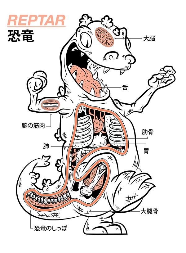 Reptar Anatomy