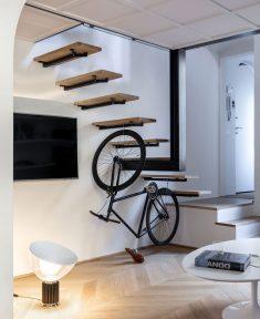 50-square-metre flat by Studio Pierattelli Architetture