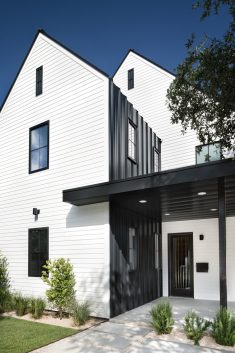 Tarrytown Residence: Farmhouse Modern Aesthetic with an Urban Appeal