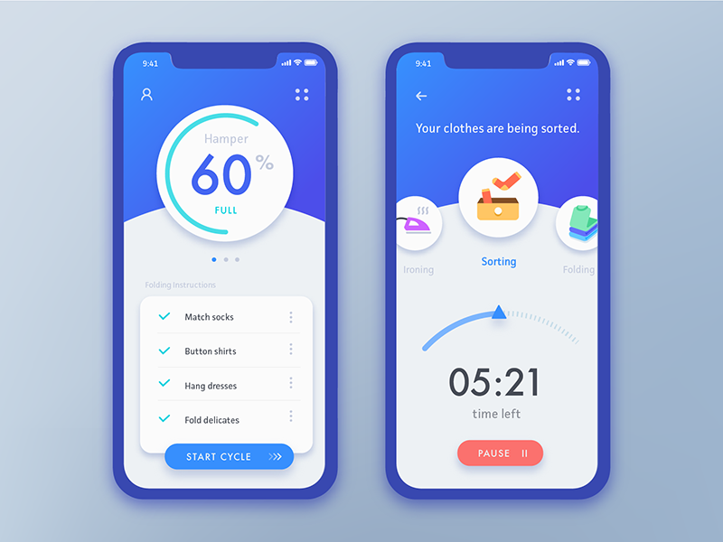 The Daily Hack 1 – Automated Clothes Sorting App by Andrea Hock