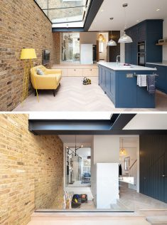 A Light-Filled Rear Extension And A Playful Basement Were Added To This Home In London