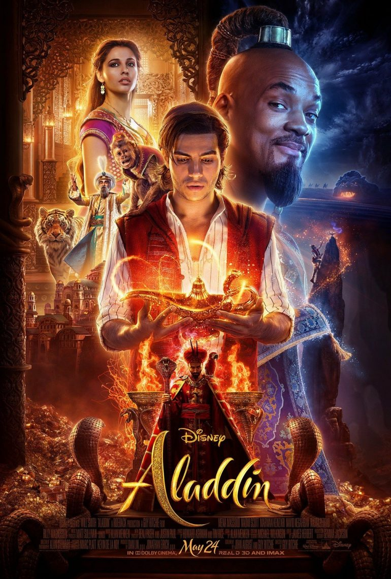 Aladdin movie 2019 poster on inspirationde - Aladdin 2019 poster ...