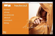 Hautecout Web design