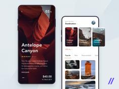 Travel Guide App Concept