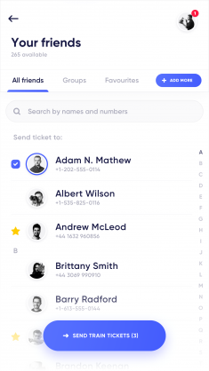 Mobilet – Send to friend by Jakub Kudelski