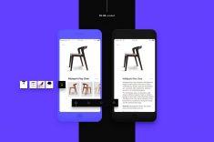 Furniture e-commerce app Ui kit.