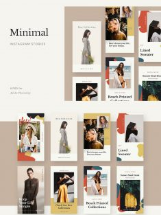 Minimal Instagram Stories Template