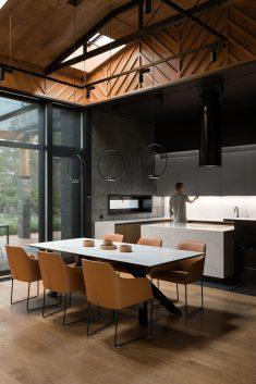 Modern Villa Interior Design in Kiev by Denis Rakayev