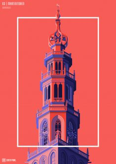 Towers of The Netherlands by Coen Pohl