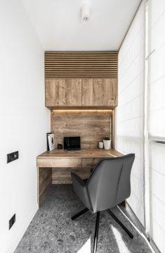 Functional apartment 46 m² in Kiev