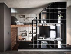 Metal TV Wall Designs