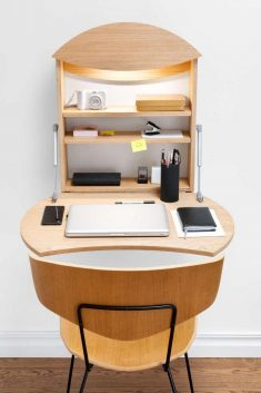 This Foldable Wall Desk Is Ideal For Small Spaces