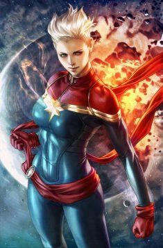 Captain Marvel by Artgerm