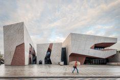'A rock' – concert hall in Torun by Fernando Menis