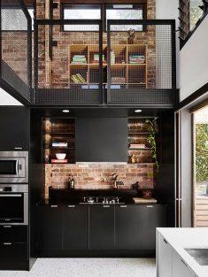 Black Kitchen Creative Designs & Ideas