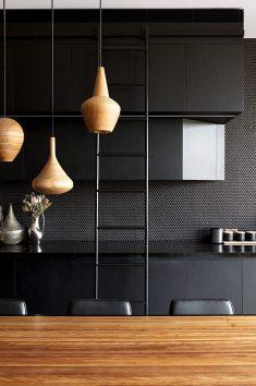 80 Black Kitchen Designs