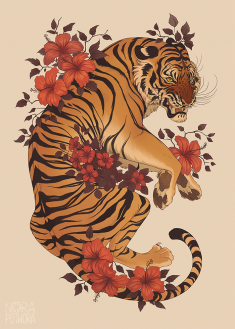 [C] Tiger by norapotwora
