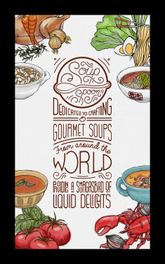 Soup Spoon Poster