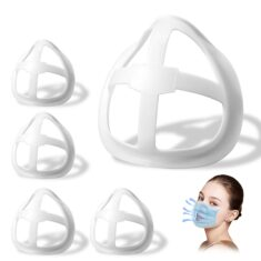 3D Face Inner Bracket for Comfortable Breathing, Inner Support Frame|Under Frame Lipstick Protec ...
