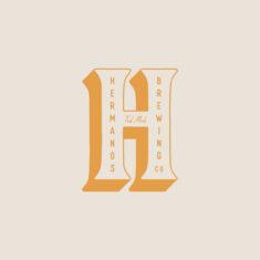 Hermanos Brewing Co. Branding