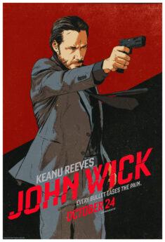 John Wick – Ad Design by DaveRapoza