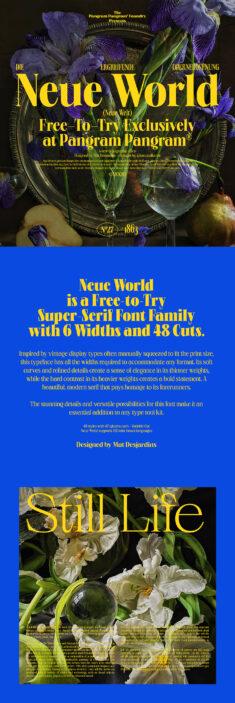 Neue World – Free Font