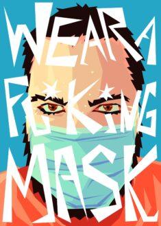 Wear a mask, please. by SzymonWajner